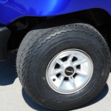 8″ Silver 7 Star Wheel Covers